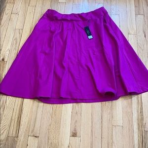 NWT Lane Bryant Ponte Circle Skirt 14/16